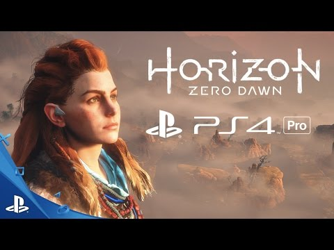 Horizon Zero Dawn - Gameplay Trailer | PS4 Pro 4K
