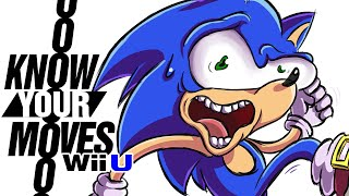 Does Sonic GOTTA Go Fast?!?!?! - Know Your Moves (Smash Bros.)