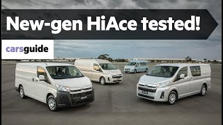 Toyota HiAce 2019 review