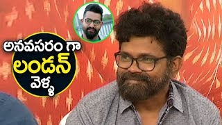 Director sukumar Comment On Rangastalam Movie | Rangastalam Movie pressmeet | Ram Charan | Samantha