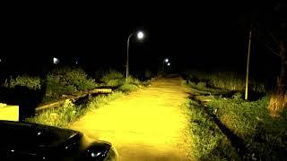 RMM FAST BRIGHT LED FOG LAMP 3 COLOR H11. Test nyala Led Fog Lamp 3 warna pada malam hari. TERANG!!!