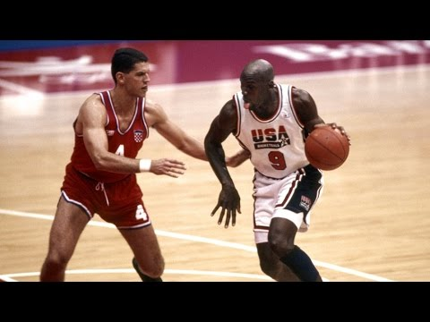 1992 USA Dream Team vs Croatia Barcelona Olympics Basketball Gold Medal Game FULL MATCH English