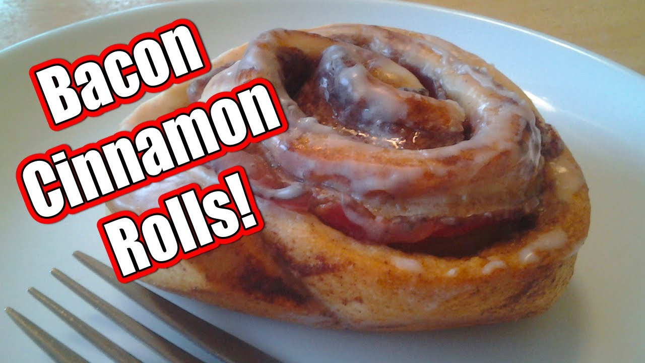 Bacon Cinnamon Rolls ~ Sweet, Savory and Easy! - YouTube
