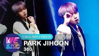 PARK JIHOON (박지훈) - 360 [Stage Showcase / ENG / 2019.12.04]