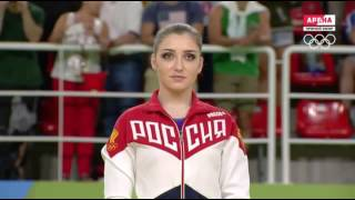 WAG All Around Medal Victory Ceremony Rio Olympics 2016