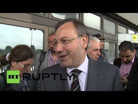 Germany: Al Jazeera's Mansour departs Berlin for Doha