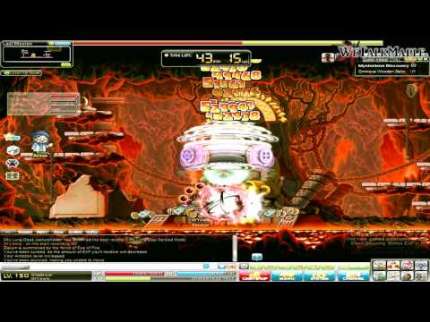 Swearing - MapleStory 150 GMS Shadower Solo Zakum