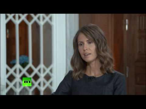 Жена Башара Асада прокомментировала освещение западными СМИ кризиса в Сирии