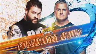 WWE SummerSlam 2019 Kevin Owens vs Shane Mcmahon Official Match Card