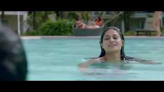 Puja Gupta in a very sexy blue bikini in go goa gone