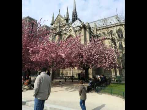 Paris travel music video
