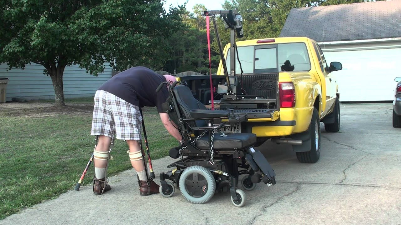 Tonka truck wheelchair lift youtube