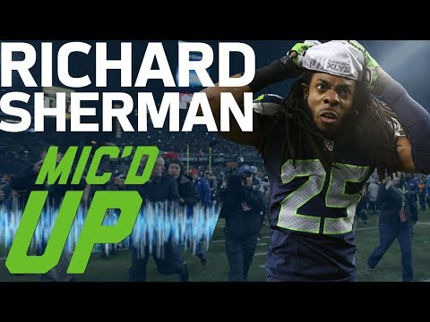 Richard Sherman's Best Mic'd Up Moments (Up to Super Bowl XLVIII) | Sound FX | NFL Films