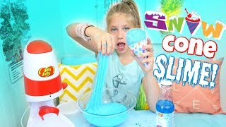 SNOW CONE SLIME without Borax Shopping for Slime at Michaels for DIY Slime Recipe Ingredients!