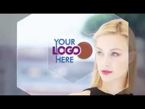 Simple Logo intro Clean Company V4 MakeUp Beauty Fashion