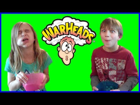 WARHEADS CHALLENGE - KID EDITION