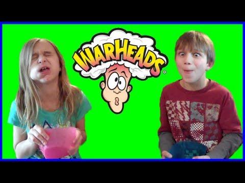 WARHEADS CHALLENGE - KID EDITION