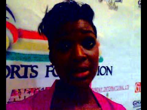 Ghana Beauty Queen in sports development