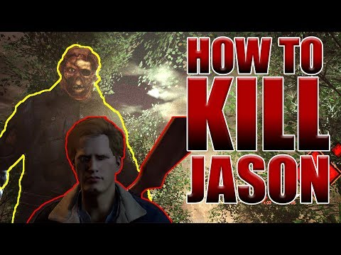 How to Kill Jason!! - Step by Step Tutorial - F13: The Game