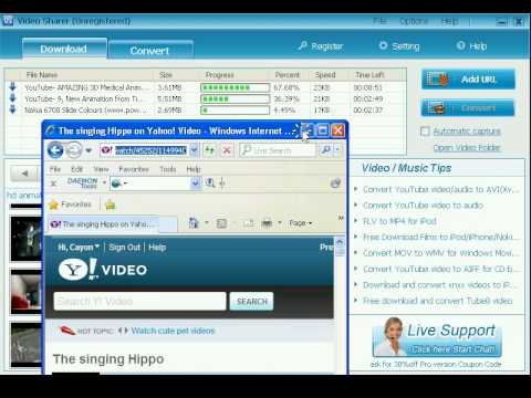 FREE download video/audio from YouTube, DailyMotion, Metacafe, Yahoo etc?