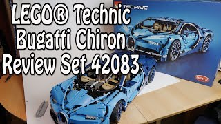 Review: LEGO Bugatti Chiron (Technic Supercar Set 42083)