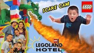 Legoland Hotel Grand Opening In Florida  Dragon Scare Cam  Best Day Ever W Amusement Park Fun