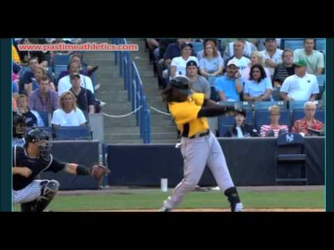 Andrew McCutchen Slow Motion Hitting Mechanics Baseball Swing Pirates MLB Tips Drills