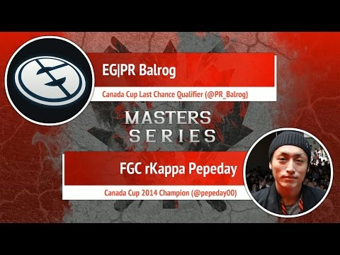 USFIV: EG PR Balrog vs FGC rKappa Pepeday - Canada Cup Master Series