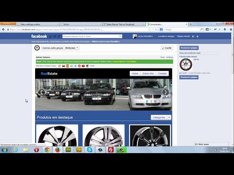 Como instalar o catálogo online para facebook