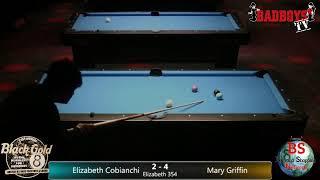 2019 BCAPL Black Gold 8-Ball Championships, Elizabeth Cobianchi vs. Mary Griffin