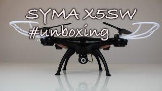 Dron Syma X5SW unboxing a představení