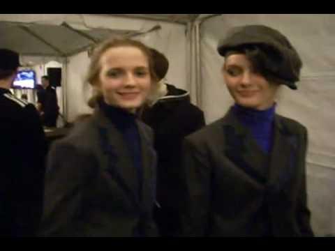 Y-3 F/W 2009 - backstage / show - youtube