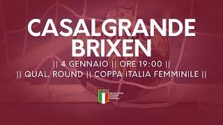 [Qual. Round] Coppa Italia F: Casalgrande - Brixen 29-35