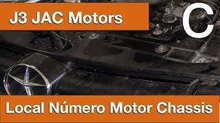 Dr CARRO Local Número Motor Chassis J3 JacMotors