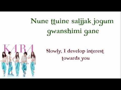 Kara - Mister Lyrics Video (romanized And Eng) video