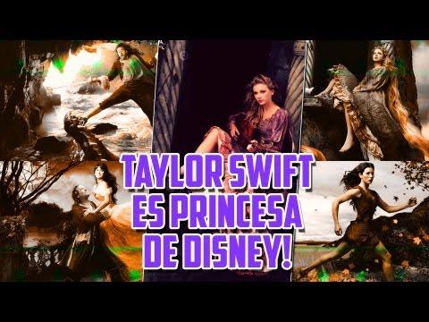 Taylor Swift es Princesa de Disney!