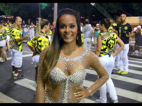 Youngest Queen of Carnival in Brazil Interview