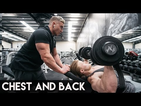 Old School Chest & Back Workout   Zac Perna