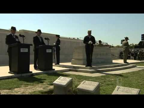 Lone Pine Memorial Service 2013 ANZAC Day Gallipoli, Turkey