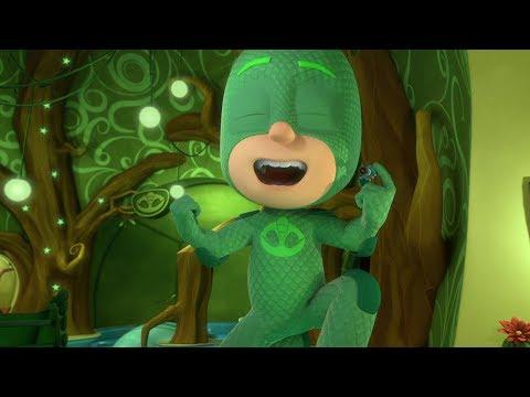 Герои в масках - Огромный Гекко , Алетт обретает крылья - мультики для детей