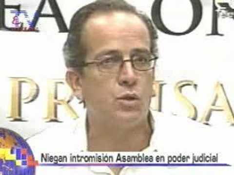 Niegan intromisión Asamblea en Poder Judicial
