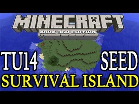 Minecraft ( TU16 ) Survival Island Seed Showcase - Minecraft Xbox 360 / PS3 Title Update 16 ( 1.06 )