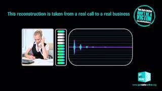 Reconstruction of actual vishing call to a small business - Archie Hicks