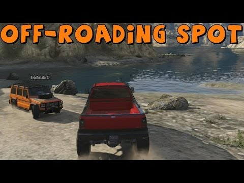 Grand Theft Auto 5 | New Off-Roading/Mud Bogging Spot | Feat. Benstonator101