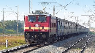COROMANDEL EXPRESS at Full Speed : Indian Railways Video