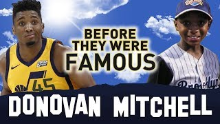 DONOVAN MITCHELL | Before They Were Famous | Slam Dunk Contest