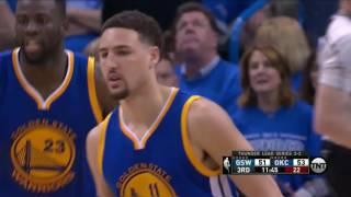 Klay Thompson All 11 3-pointers new NBA Playoff record | Thunder vs Warriors WCF Game 6 | 29.5.16