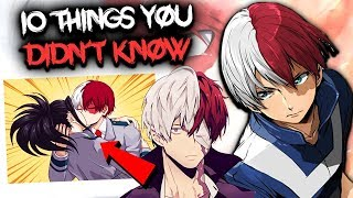 10 Things You Didn't Know About Todoroki Shoto - My Hero Academia