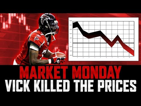 MARKET MONDAY | Mike Vick DESTROYED The Market | How To Make Coins post Vick | MUT 18