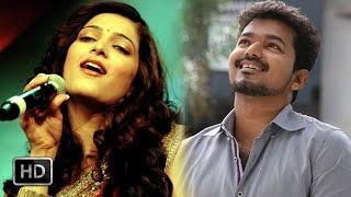 Shruti Haasan + Vijay combination for song in Kaththi